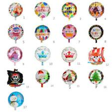 "18"" Round ""HAPPY BIRTHDAY"" Letters Foil Balloons For Birthday Party Decoration"