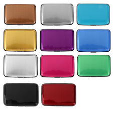 Fashion Aluminum Metal Credit Card Wallet Holder Pocket Business ID Case Box NEW