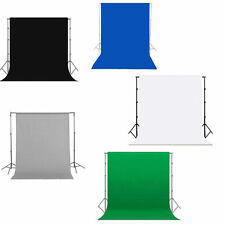 Photo Studio Backdrop Support Stand Crossbar Background Color & Size Optional