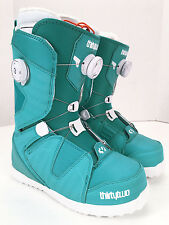 NEW Thirtytwo BINARY BOA 2015 Womens Snowboard Boots Blue Teal White 7 7.5 8 9.5