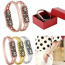 Stainless Steel Bracelet Bangle Accessory Metal Band Strap For Fitbit Flex 2 New