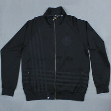 Lifted Research Group - LRG The Think Legacy Track Jacket in Black Sz L NWT