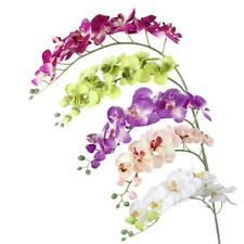 Real Touch Flower Artificial Butterfly Orchid Wedding Home Office DIY Decor PICK