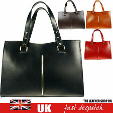 Designer Fashion Womens Leather Style Tote Ladies Shoulder Handbag H039