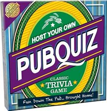 Cheatwell Games Host Your Own Pub Quiz Classic Trivia Game