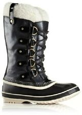 NIB Women's Sorel Joan of Arctic Holiday Limited Edition Waterproof Boots Black