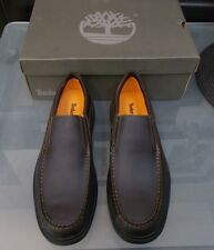 NEW IN BOX MENS DARK BROWN TIMBERLAND SLIP ON SHOES
