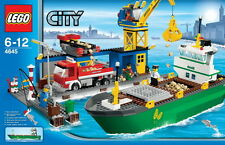 LEGO City Harbor 4645 New in Factory Sealed Box