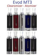 Evods MT3 Wickless Atomizer Clearomizer Tank, No Leak High Quality Uk Stock