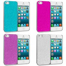 Color Glitter Bling Sparkly Ultra Thin Hard Case Cover for iPhone SE