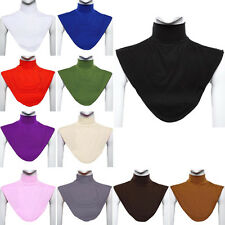 New Womens Muslim Moslem Hijab Turtleneck Neck Cover Dickey Collar Multicolor