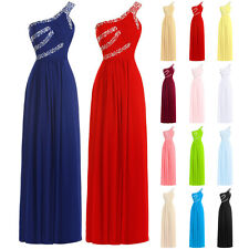 New Strapless Formal Party Prom Ball Gown Bridesmaid Dress Evening SZ 6-18 STOCK