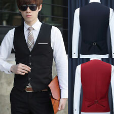 FashionMen's Suit Vests Slim Dress Formal Waistcoat Hot Business Gentleman Vests