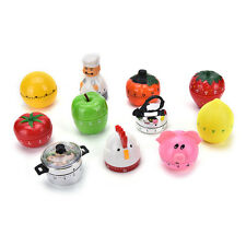 Creative Plastic Mechanical Kitchen Cooking Alarm Timer Reminder 60Minute ToolsP