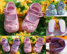 Soft Shoes 2016 Baby Toddler Shoes Sole 0-18M Flower Dot Infant NEW PU Leather