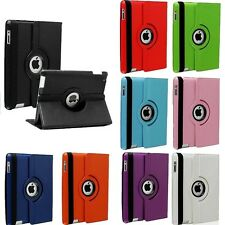 Leather 360 Rotating Smart Stand CaseCover For APPLE iPad Air 4 3 2 Mini Pro 9.7