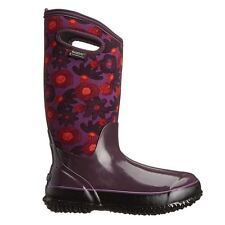 Bogs Classic Watercolor Tall  Plum Womens Boots