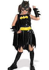 Childrens Batgirl Fancy Dress Costume