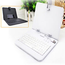 PU Leather Case Cover Micro USB Keyboard w/ Stylus for 7 8 9 9.7 10 inch Tablet