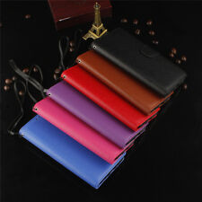 Wallet Flip Card strap Leather Case Cover For iPhone 6s 7 Plus 5s iPod Touch 5 6