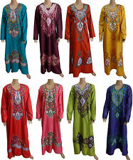 Egyptian Cotton Embroidered  Kaftan Caftan Jilbab Galabeya  Abaya Islamic 439