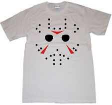 Friday the 13th Shirt Mask of Jason Voorhees Horror Movie Men's Tshirt
