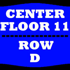 1-4 TIX THE COMEDY GET DOWN 2/10 FLOOR 11 ROW D AMERICAN AIRLINES CENTER DALLAS