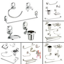 Doyours 5Pcs Bathroom Set Tumbler Holder Stainless Steel Soap Dish Towel Ring