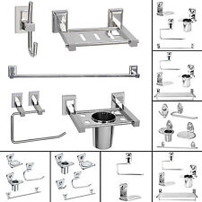 Doyours 4 Soap Dish Tumbler Holder Towel Holder Bath Accessory Stainless Steel