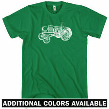 Tractor V2 T-shirt - Men S-4X Gift Hipster Farming Farm Equipment Classic Farmer
