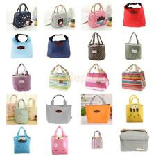 New Thermal Insulated Waterproof Cooler Lunch Box Bag Carry Storage Handbag Tote