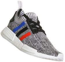 Adidas NMD R1 PK PrimeKnit TriColor White Black Blue Red BB2888 Mens