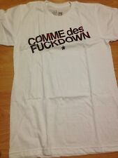 SSUR COMME DES FUCKDOWN ASAP ROCKY ROSE TEE THE CUT WHITE CLOT MMJ FREE SHIP