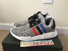 Adidas NMD R1 PK Primeknit Tri color White Oreo Mens sizes BB2888