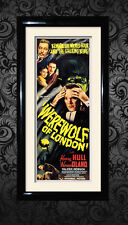 Werewolf of London , horror , vintage movie posters and framed prints