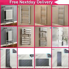 Various Designer Central Heating Radiators Rad Towel Rail Anthracite Free Valve