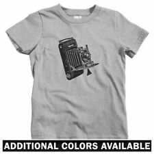 Vintage Camera Kids T-shirt - Baby Toddler Youth Tee - Gift Photographer Retro