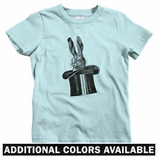 Rabbit In A Hat Kids T-shirt - Baby Toddler Youth Tee - Gift Magic Tricks Bunny