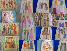 SEWING PATTERNS U PICK TOPS PAJAMAS DRESS KNITS SOME PLUS MORE