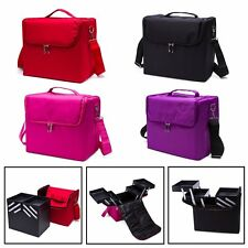 Women Makeup Vanity Bag Toiletry Box Cosmetic Beauty Case Travel Pouch Organizer