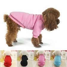 Pet Coat Dog Jacket Winter Clothes Puppy Cat Sweater Fleece Clothing Apparel New