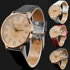 Hot Women's Wrist Watch Fashion Leather Band Stainless Steel Analog Quartz CHI