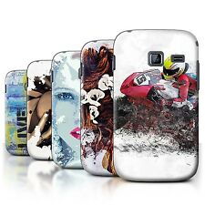 STUFF4 Back Case/Cover/Skin for Samsung Galaxy Y Duos/S6102/Fragments