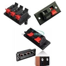 2P/4P/6P Way Audio Speaker Terminal Double Spring Clip Jack Plug Socket Switch