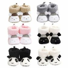 Infant Toddler Winter Baby Girl Boy Snow Boots Booties Newborn Crib Shoes 0-18 M