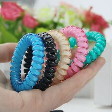 Fashion Cute Candy Color Hair Jewelry Headbands Telephone Line Hair Rope