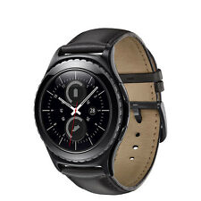 Samsung Gear S2 40mm Black Stainless Steel Classic Buckle - (SM-R7320ZKAXAR)