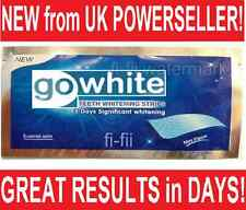 28 (FULL COURSE) PROFESSIONAL BEST QUALITY TEETH WHITENING STRIPS (14 POUCHES)