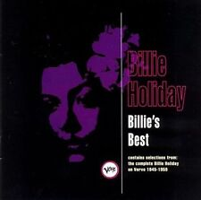 Billie's Best by Billie Holiday (CD, May-1992, Verve)