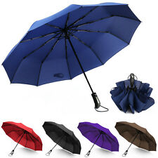 46 inch Umbrella10 Ribs Automatic Open/Close Compact Windproof Foldable Umbrella